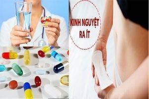 Kinh nguyệt ra ít uống thuốc gì chữa trị hiệu quả?